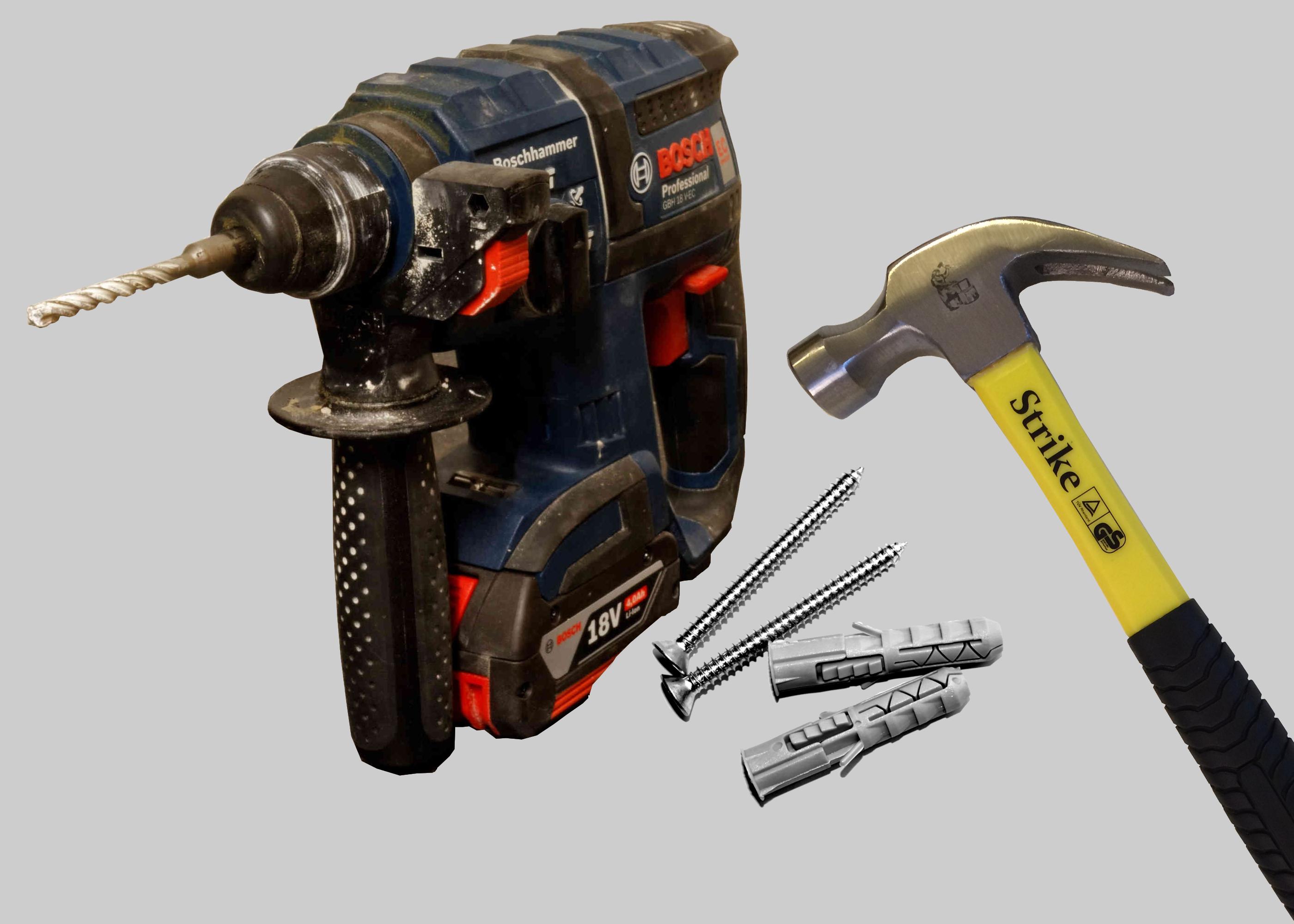 Handwerker nutzen für Ihre Montagearbeiten solches Werkzeug in Potsdam und Berlin